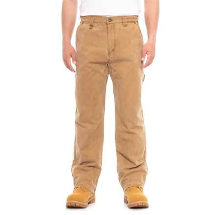 Walls Vintage Classic Fleece-Lined Duck Pants (For Men) in Pecan - Closeouts