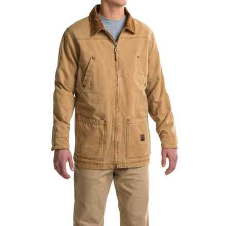 Walls Vintage Duck Barn Coat (For Men) in Pc9 Pecan - 2nds