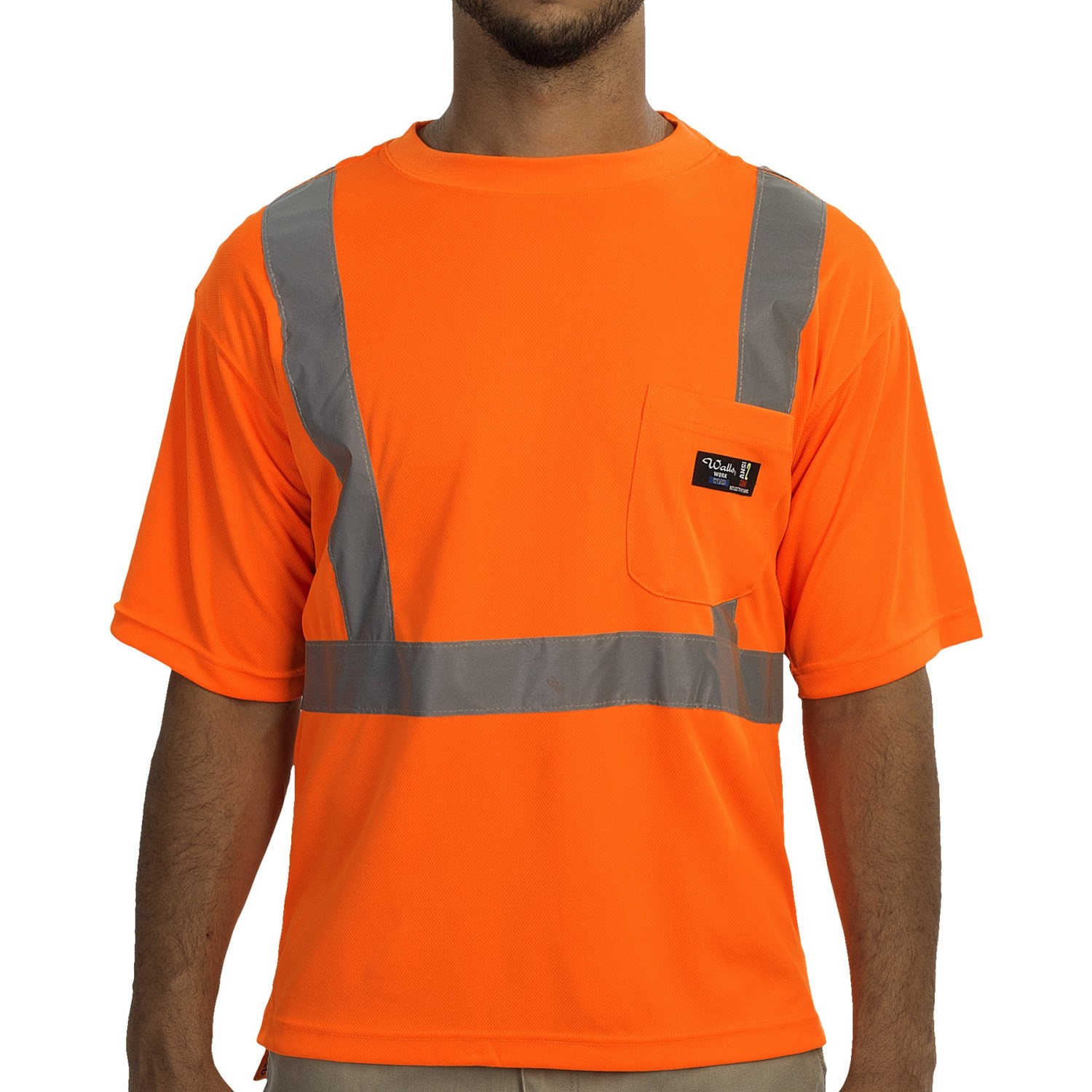 Walls Workwear Class 2 High Visibility T Shirt For Men