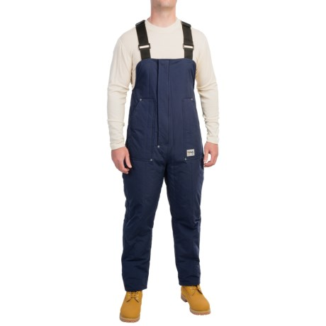 Walls Workwear Polar 10 Cooler Bib Overalls - Insulated (For Men) in Navy