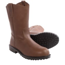 Walls Wyatt Wellington Work Boots - Leather, Steel Toe (For Men) in Brown - Closeouts