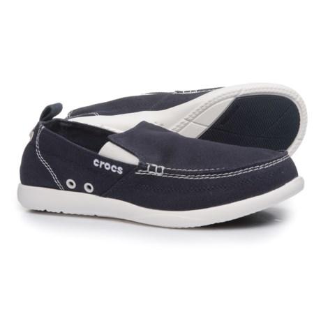 b180f0021 UPC 883503616219 - Mens Crocs Walu Loafers - Navy White 9 M