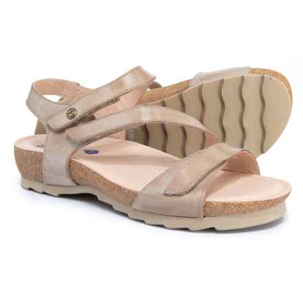 Wanda Panda Made in Spain Tamina Sandals - Leather (For Women) in Tierra