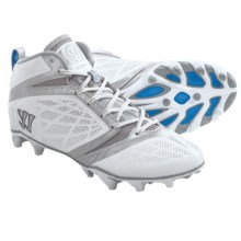 Warrior Burn Speed 6.0 Lacrosse Cleats (For Men) in White - Closeouts
