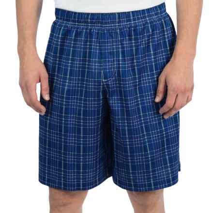 Warrior Caddishack Shorts (For Men) in Blue/Black - Closeouts