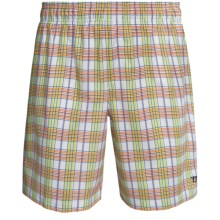 Warrior Caddishack Shorts (For Men) in White/Orange/Green - Closeouts