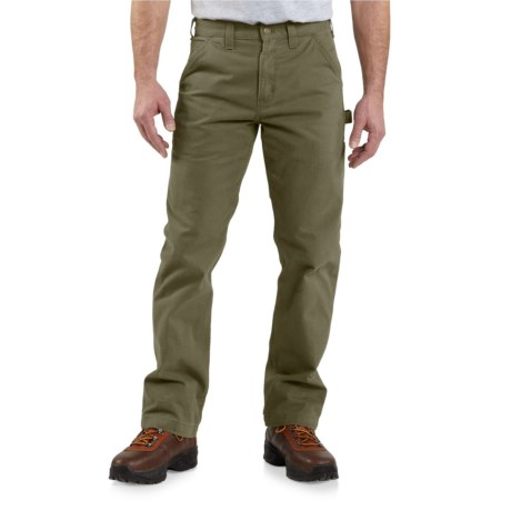 Image of Washed Twill Work Pants - Relaxed Fit, Factory Seconds (For Men)