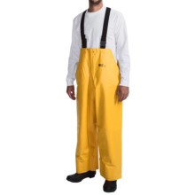 Waterproof Rain Bib Overalls (For Men) in Yellow - Closeouts