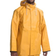 Waterproof Rain Parka (For Men) in Yellow - Closeouts