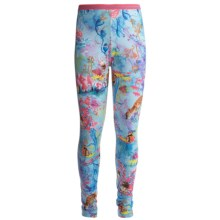 Watson's Brushed Microfiber Base Layer Bottoms (For Girls) in Whimsical - Closeouts