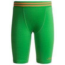 Watson's Compression Stretch Nylon Shorts (For Boys) in Green - Closeouts
