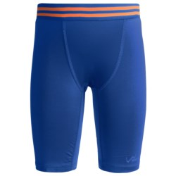 Watson's Compression Stretch Nylon Shorts (For Boys) in Speed Blue