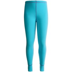 Watson's Double-Layer Base Layer Bottoms - Heavyweight (For Girls) in Pale Blue