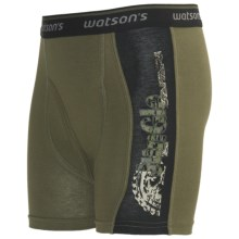 Watson's Printed Boxer Briefs - Underwear (For Boys) in Safari - Closeouts