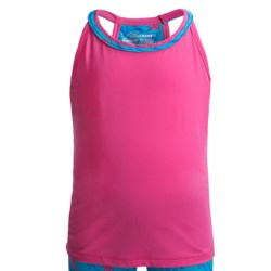 Watson's Racerback Camisole - Compression Stretch Nylon (For Girls) in Pink