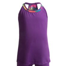 Watson's Racerback Camisole - Compression Stretch Nylon (For Girls) in Purple - Closeouts
