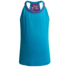 Watson's Racerback Camisole - Compression Stretch Nylon (For Girls) in Scuba Blue - Closeouts