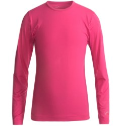 Watson's Brushed Microfiber Base Layer Top - Long Sleeve (For Little and Big Girls) in Fuschia
