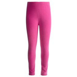 Watson's Brushed Microfleece Base Layer Bottoms (For Little and Big Girls) in Pink