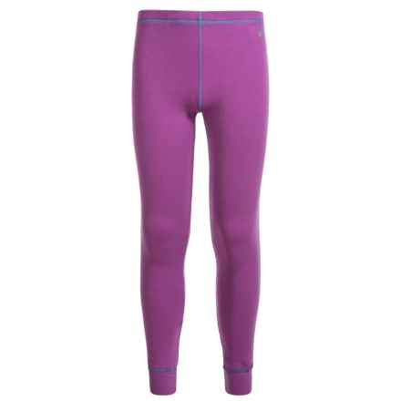 Watson's Double-Layer Thermal Pants (For Little and Big Girls) in Purple/Mauve - Closeouts