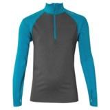 Watson's High-Performance Shirt - Zip Neck, Long Sleeve (For Boys)