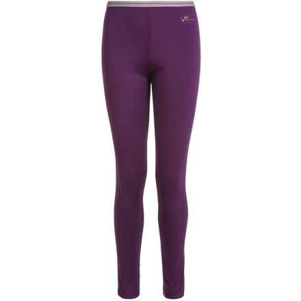 Watson's High-Performance Thermal Pants (For Little and Big Girls) in Purple/Mauve - Closeouts