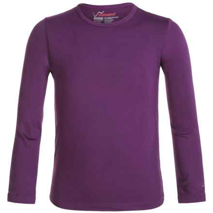 Watson's High-Performance Thermal Shirt - Long Sleeve (For Little and Big Girls) in Purple - Closeouts