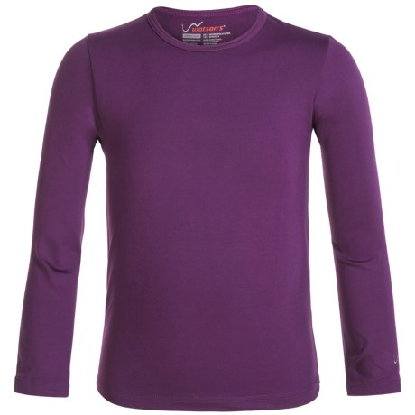 Watson's High-Performance Thermal Shirt - Long Sleeve (For Little and Big Girls) in Purple