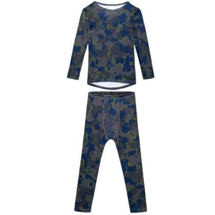 Watson's Performance-Grid Camo Thermal Underwear Set - Long Sleeve (For Toddler Boys) in Grid Camo Print - Closeouts
