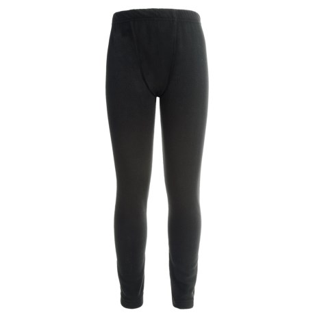 Watson's Watson's Brushed Microfleece Base Layer Bottoms (For Little and Big Boys) in Black