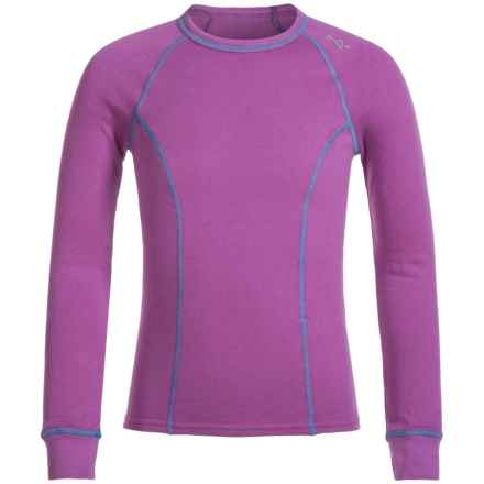 Watson's Watson's Double Layer Thermal Shirt - Long Sleeve (For Little and Big Girls) in Purple - Closeouts