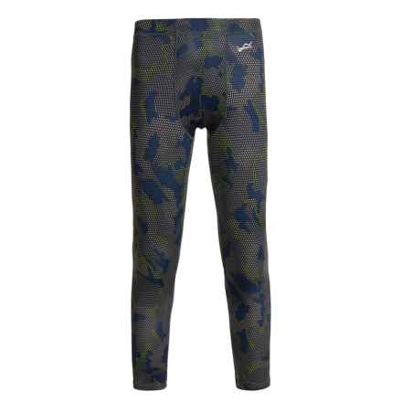 Watson's Watson's High-Performance Base Layer Pants (For Little and Big Boys) in Grid Camo - Closeouts