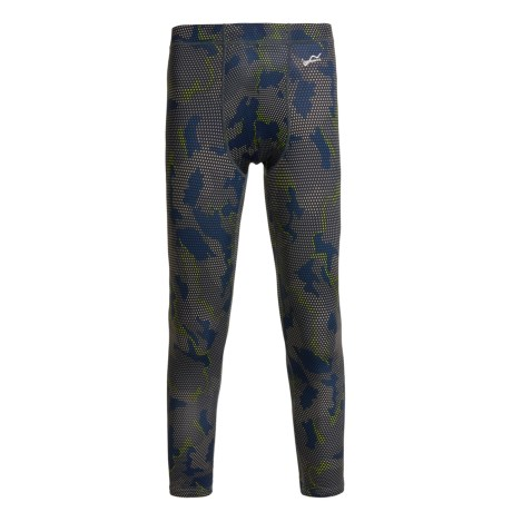 Watson's Watson's High-Performance Base Layer Pants (For Little and Big Boys) in Grid Camo
