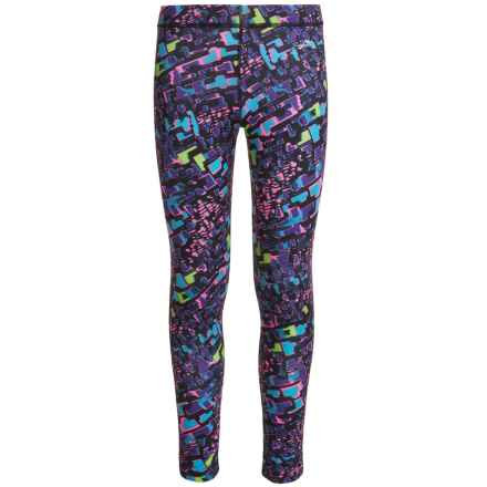 Watson's Watson's High-Performance Thermal Pants (For Little and Big Girls) in Animal Geo Print - Closeouts