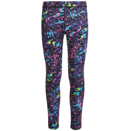 Watson's Watson's High-Performance Thermal Pants (For Little and Big Girls) in Animal Geo Print