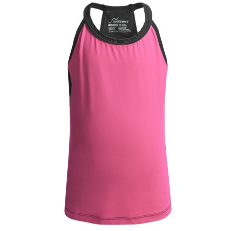 Watson's Watson's Racerback Camisole - Compression Stretch Nylon (For Girls) in Neon Pink