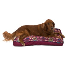 "Waverly Fiesta Medallion Dog Bed - 36x27"" in Gem - Closeouts"
