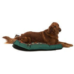 Waverly Fiesta Medallion Dog Bed in Adobe