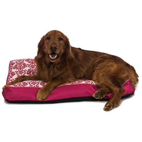 "Waverly Luminary Dog Bed - 36x27"" in Pink"