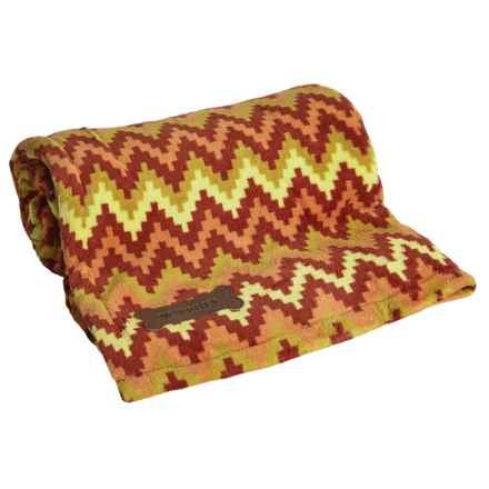 "Waverly Patterned Pet Throw Blanket - 60x50"" in Heartbeat Fiesta - Closeouts"