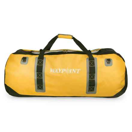 Waypoint 220L Heavyweight Dry Duffel Bag - XL, Waterproof in Sun Yellow - Closeouts