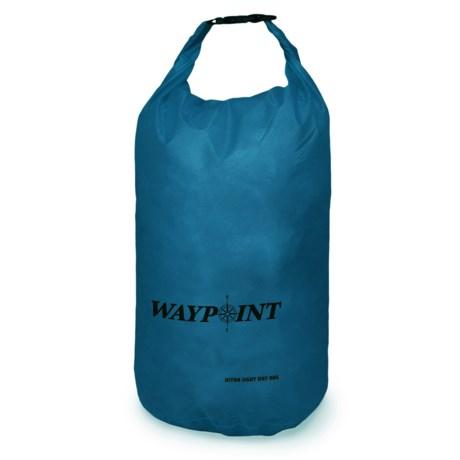 Waypoint 40L Ultralight Dry Bag in Ocean Blue