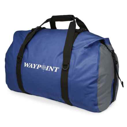 Waypoint 65L Midweight Dry Duffel Bag in Ocean Blue - Closeouts