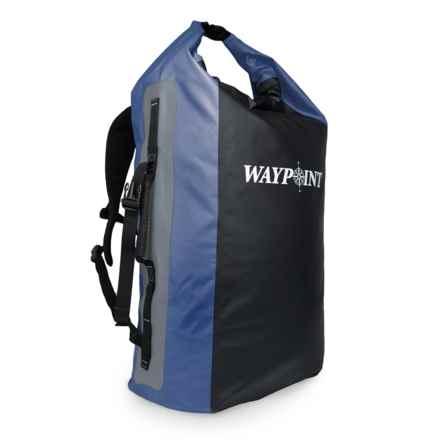 Waypoint 75L Heavyweight Dry Pack - Waterproof in Ocean Blue - Closeouts