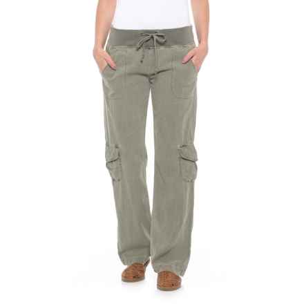 Wearables by XCVI Drawstring Pants (For Women) in Fern - Closeouts