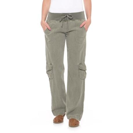 Wearables by XCVI Drawstring Pants (For Women) in Fern