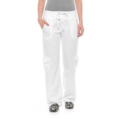 Wearables by XCVI Drawstring Pants (For Women) in White