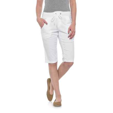 Wearables by XCVI Pull-On Capris (For Women) in White - Closeouts
