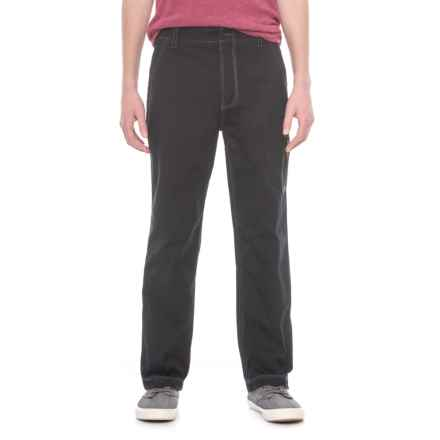 Wearfirst FreeBand Stretch Canvas Pants - Zip Pocket (For Men) in Nouvelle Noir - Overstock
