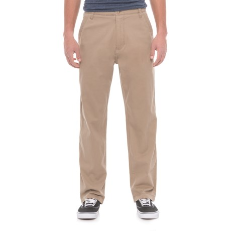 Wearfirst Stretch Twill Pants (For Men) in Chinchilla